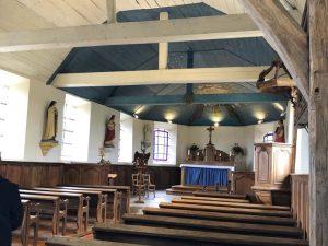 Intérieur Église de La Bellière
