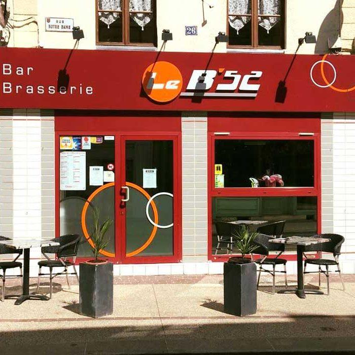 Devanture Le B'52 Bar Brasserie Gournay-en-Bray commercants pass avantages