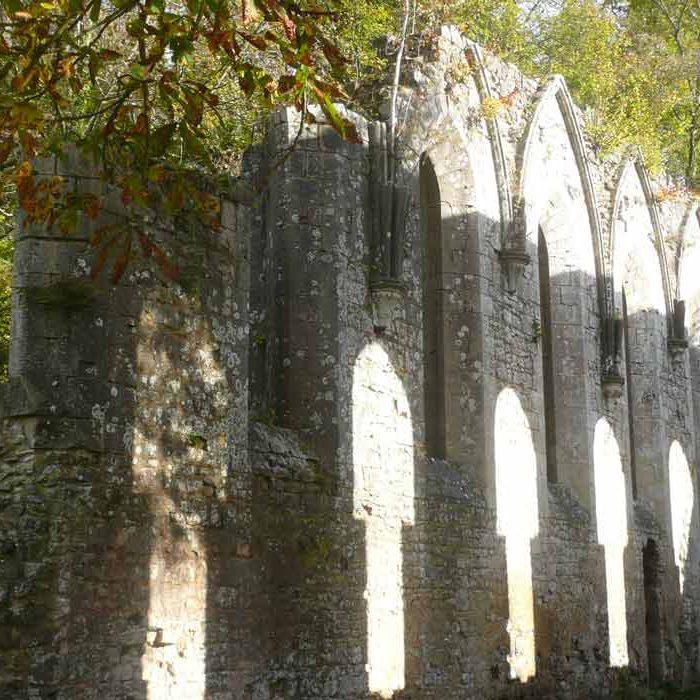 Mur Abbaye Notre-Dame Fontaine-Guérard à Radepont Culture et Patrimoine