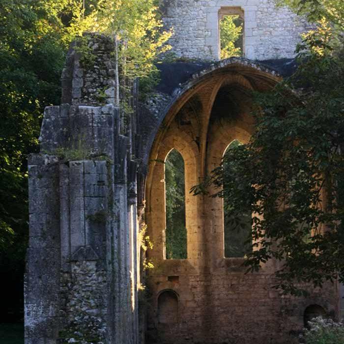 Arche Abbaye Notre-Dame Fontaine-Guérard à Radepont Culture et Patrimoine