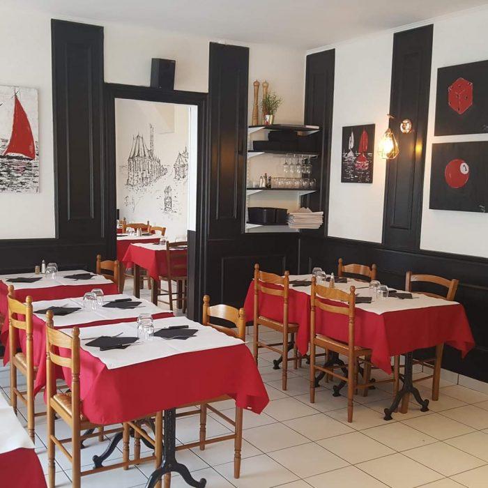 salle restaurant Aux Anciennes Halles à Buchy brasseries et bistrots