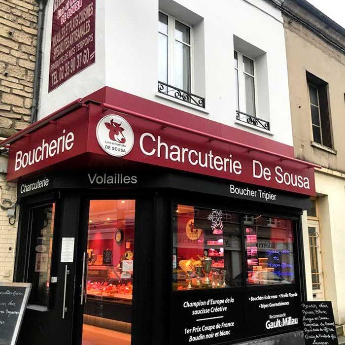 Devanture Boucherie Charcuterie De Sousa Gournay-en-Bray commercants pass avantages