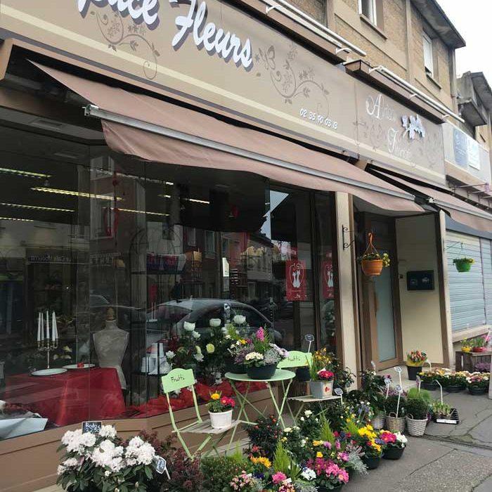 Devanture Espace Fleurs Fleuriste Gournay-en-Bray commercants pass avantages