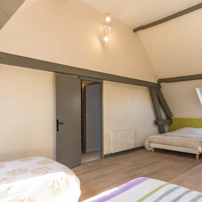 Chambre au gîte de la Presle à Beaubec-la-Rosière gîtes et meublés