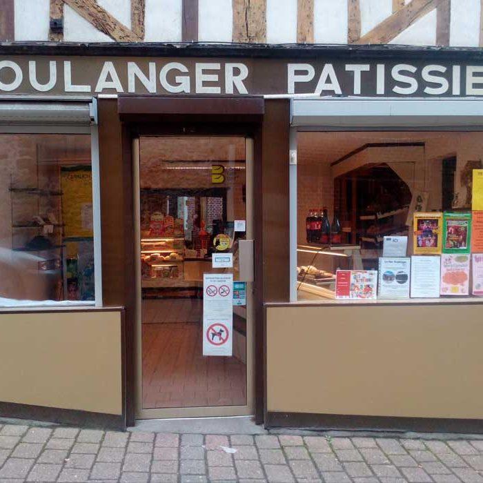 Devanture Boulangerie La Florentine à Gaillefontaine commercants pass avantages