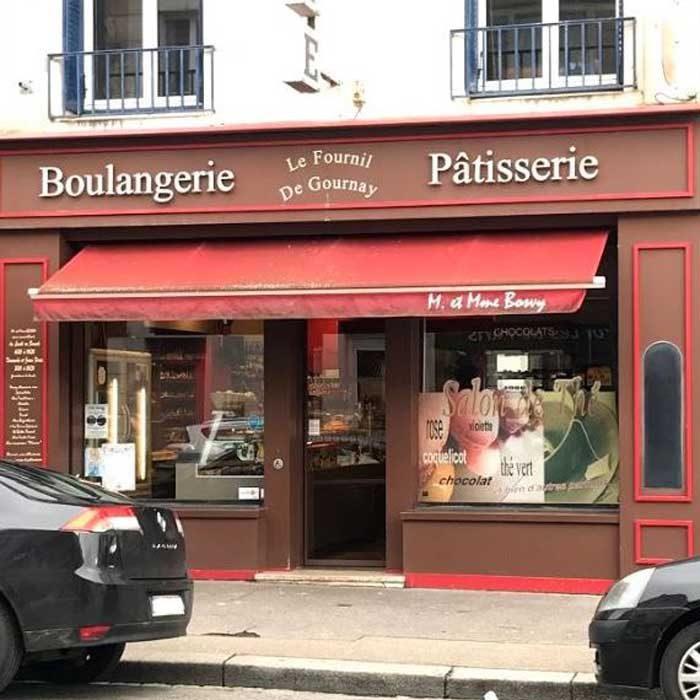 Devanture Le Fournil de Gournay Boulangerie-Pâtisserie Gournay-en-Bray commercants pass avantages