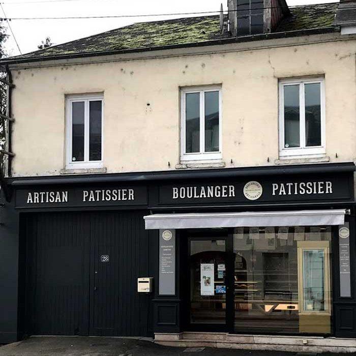 Devanture Boulangerie-Pâtisserie Lemitre Gournay-en-Bray commercants pass avantages