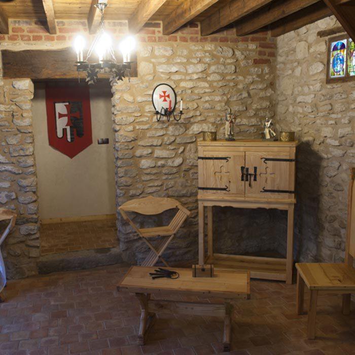 Pièce Gîte Les Templiers Normands gîtes et meublés