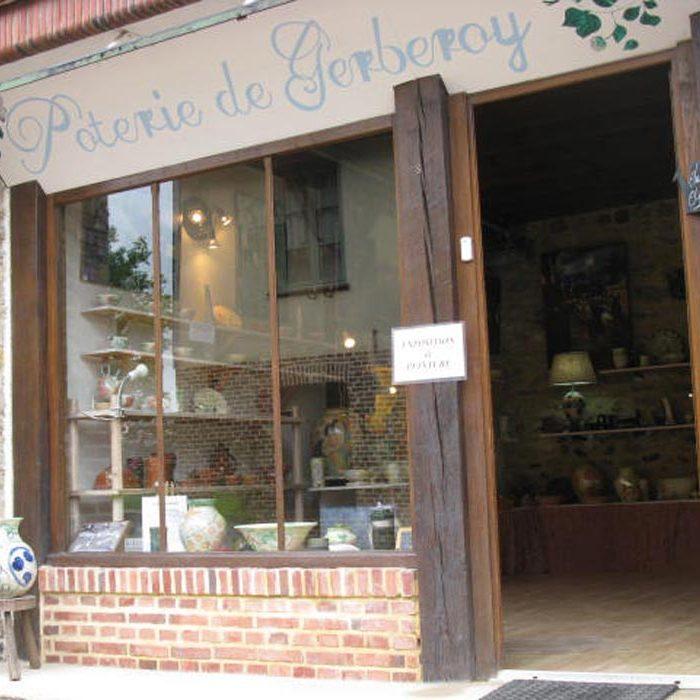 Vue extérieure atelier de poterie à Gerberoy Culture et Patrimoine