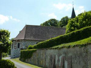 L'Église Saint-Ouen à Bouchevilliers