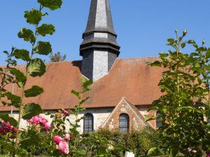 L'Église Saint-Martin à Brémontier-Merval