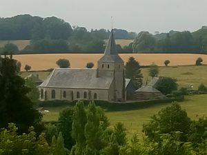 Vue de l'Église de Grumesnil