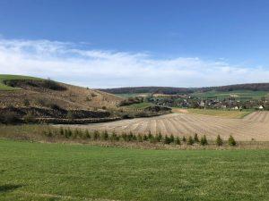 Mont et Village à Sigy-en-Bray