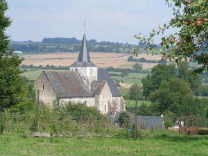 L'Église Notre-Dame de Ménerval