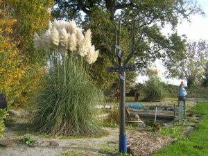 Jardin privé à Mésangueville