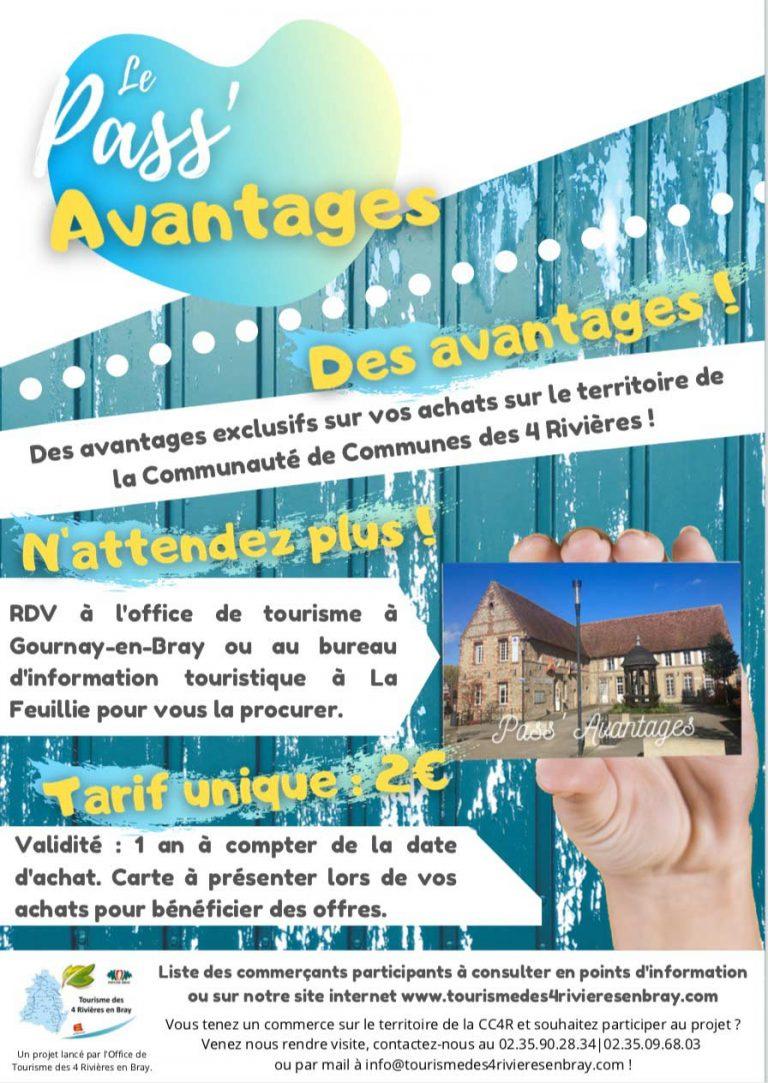 pass avantages CC4R