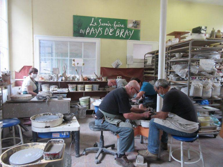 Atelier Terre de Bray - Poterie à Gaillefontaine en Seine-Maritime