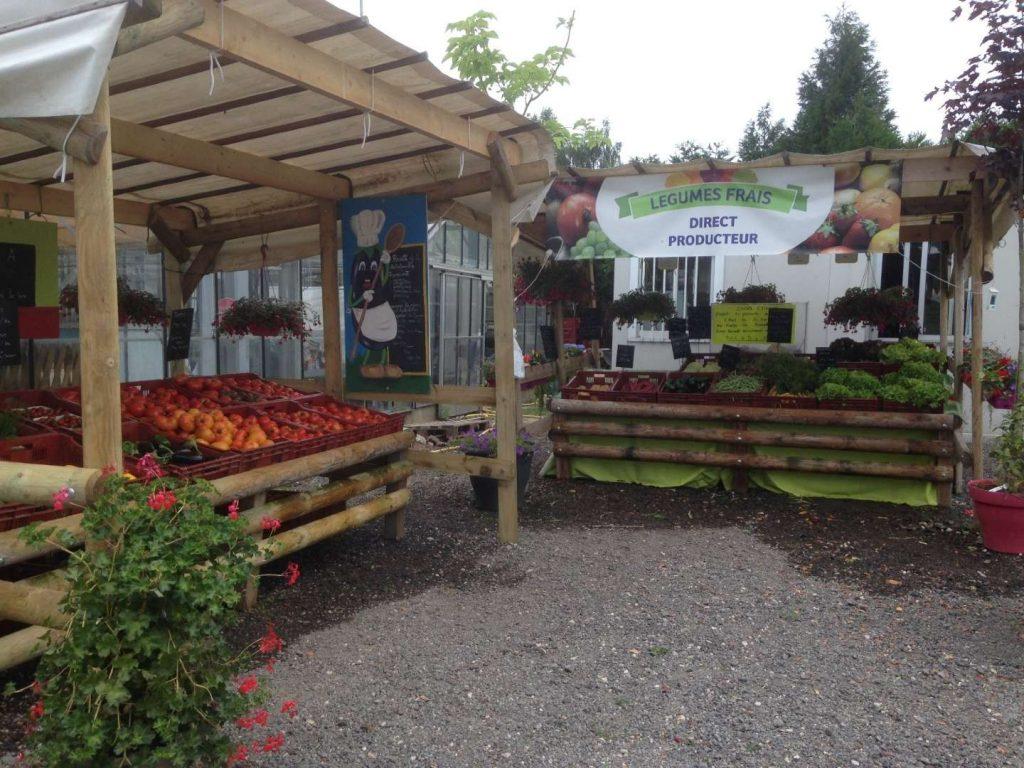 Marché chez Xena Floral à Elbeuf-en-Bray