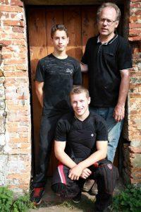 L'équipe du Paintball des anges à Saumont-la-Poterie
